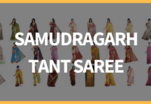 Samudragarh Tant Saree