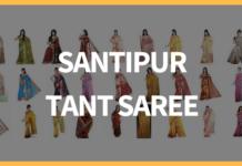 Santipur Tant Saree